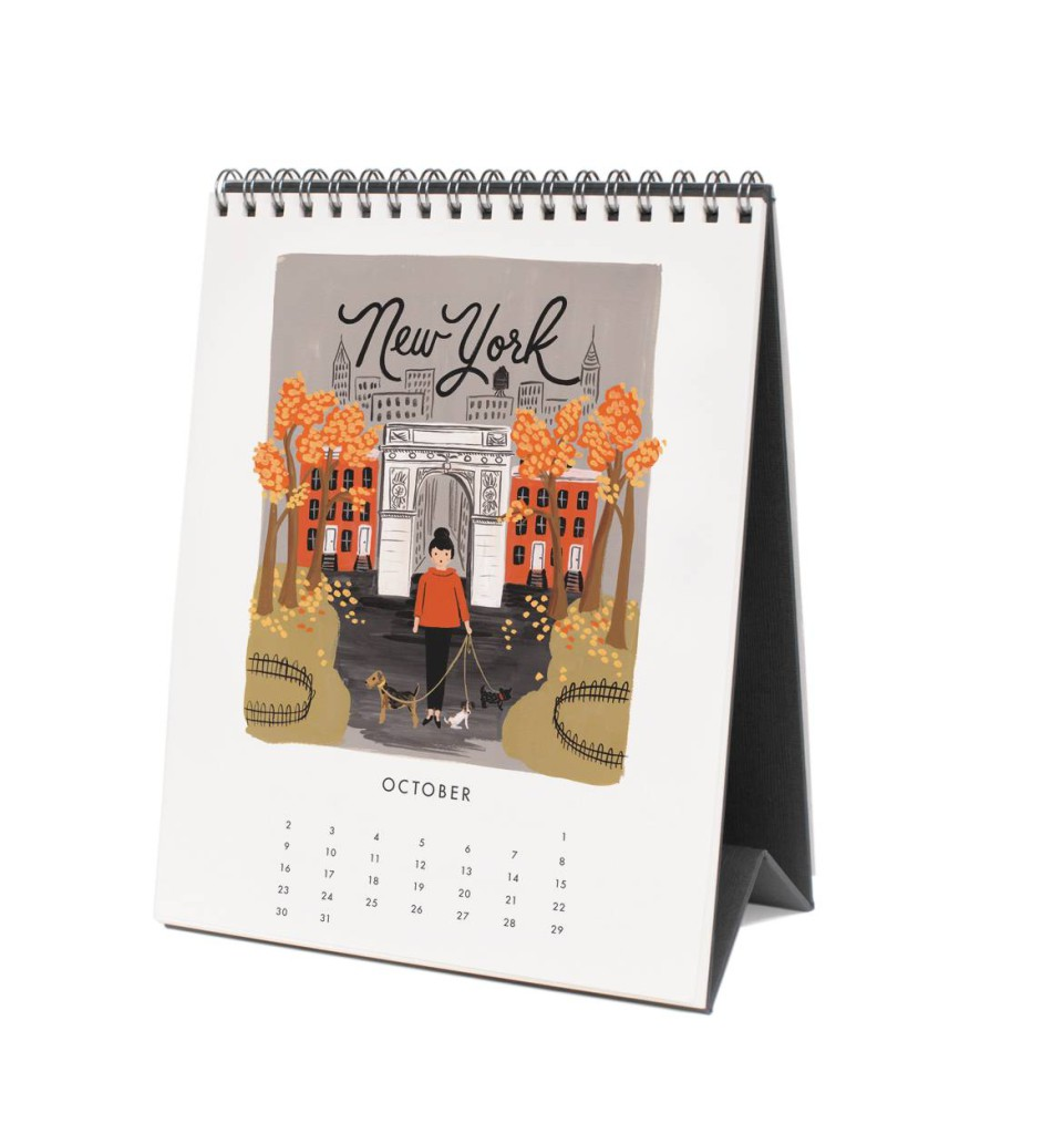 Tischkalender 2016 von Rifle Paper Co, Travel