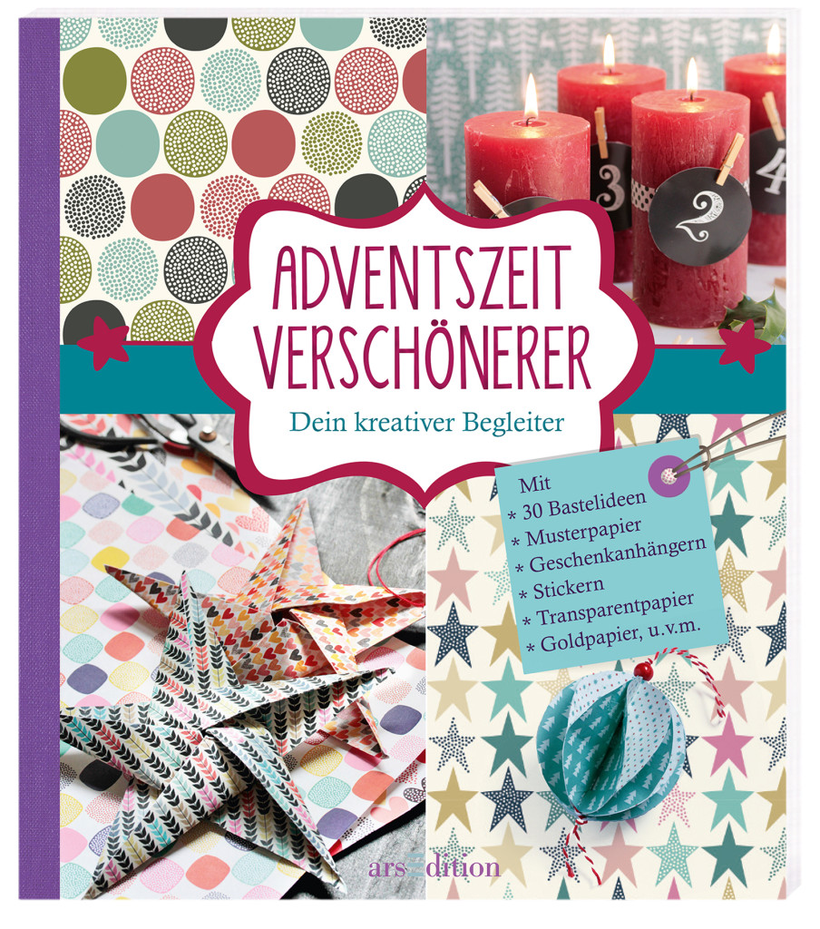 Buch Adventszeitverschönerer arsEdition
