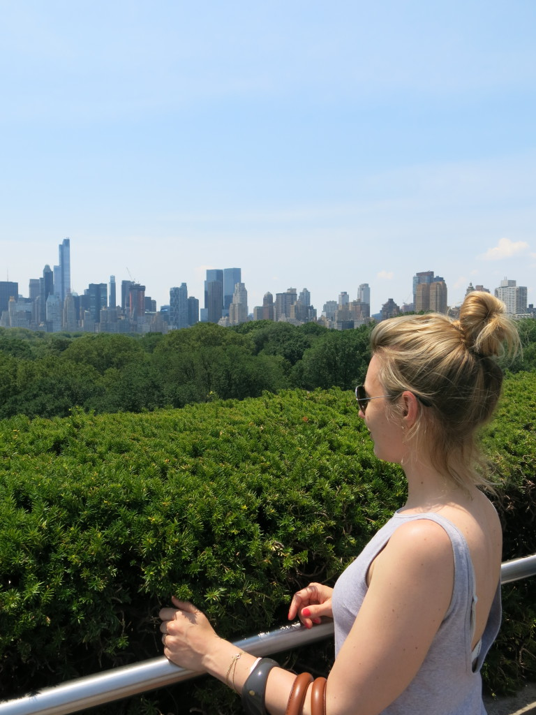 Ausblick geniessen in New York
