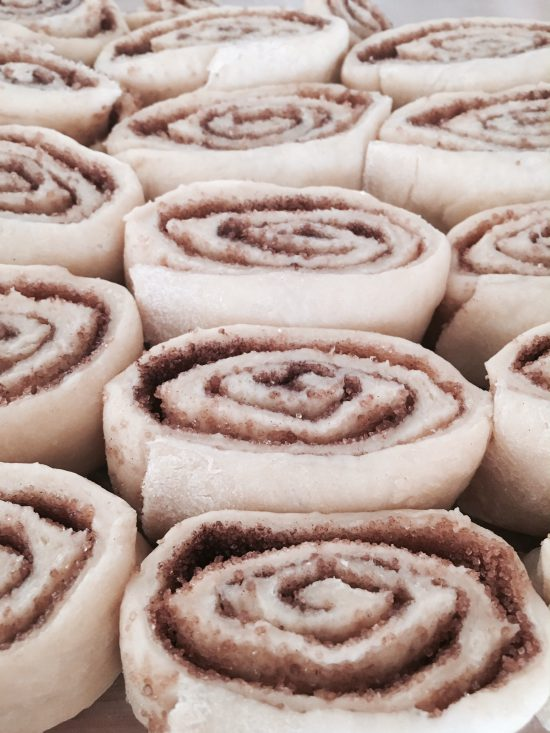 Cinnamon Rolls backen