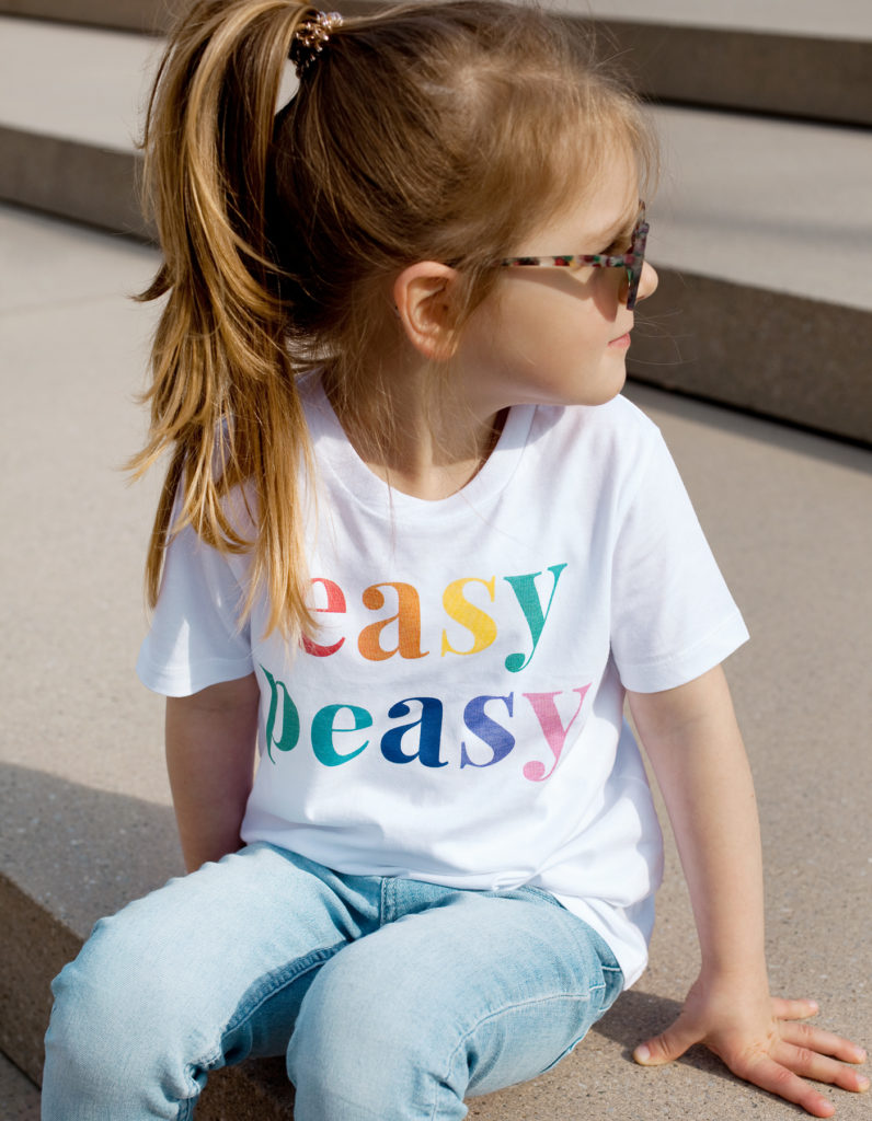 Easy peasy T-Shirt Bio Baumwolle Damen und Kinder
